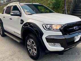 Selling White Ford Ranger 2018 Automatic Diesel at 10000 km