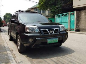 Black Nissan Xtrail 2005 for sale in Malabon