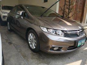 2012 Honda Civic 1.8E automatic