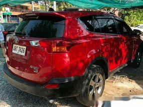 Sell Red 2015 Toyota Rav4 Automatic Gasoline at 21000 km