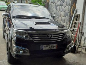 Selling Black Toyota Fortuner 2016 Automatic Diesel