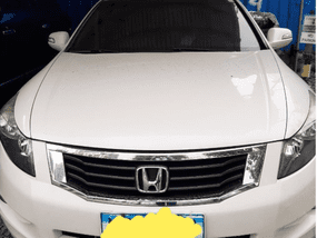 Selling Used Honda Accord 2008 in Manila