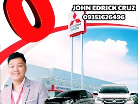 New Mitsubishi Montero Sport Manual Zero Down Payment in Metro Manila