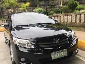 Black Toyota Altis 2010 AT in San Juan