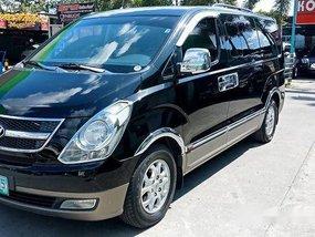 Black Hyundai Grand starex 2011 at 76000 km for sale