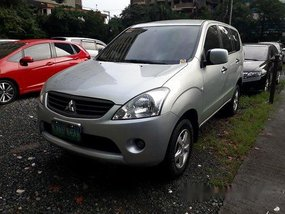 Selling Silverv Mitsubishi Fuzion 2013 at 36800 km