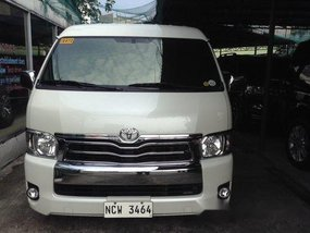 White Toyota Hiace 2018 for sale in Quezon City