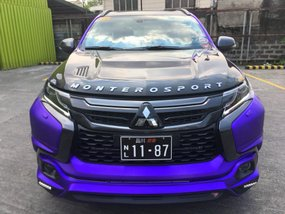 Purple 2016 Mitsubishi Montero Sport for sale in Bacoor