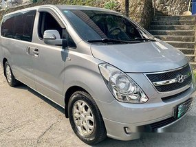 Silver Hyundai Grand Starex 2012 for sale in Pasig