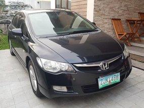 Black Honda Civic 2007 for sale in Quezon City
