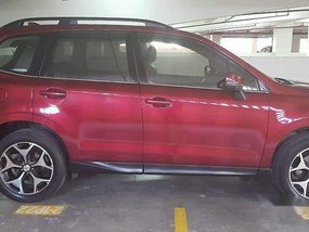 Red Subaru Forester 2016 at 73000 km for sale