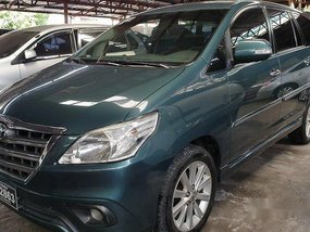 Selling Green Toyota Innova 2015 Automatic Diesel