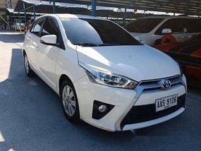 Sell White 2014 Toyota Yaris in Makati