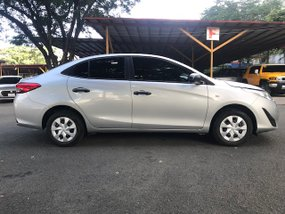 2018 Toyota Vios J Silver Manual