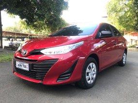 Red 2019 Toyota Vios 1.3J manual