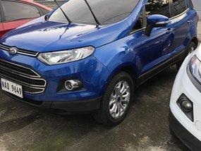 2017 Ford Ecosport Titanium Blue Automatic Rush Sale