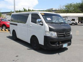 Foton View 2016 Manual Diesel for sale