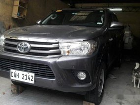 Sell Grey 2018 Toyota Hilux at Manual Diesel at 25000 km