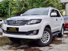 2014 Toyota Fortuner G A/T Gas