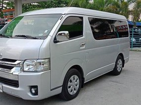 Silver Toyota Hiace 2015 at 60000 km for sale