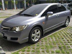 Silver Honda Civic 2006 at 115000 km for sale