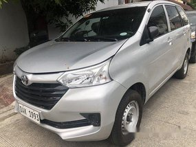 Selling Silver Toyota Avanza 2019 at 2800 km