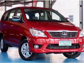 2012 Toyota Innova for sale in Quezon City