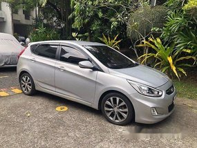 Silver Hyundai Accent 2014 at 60000 km for sale