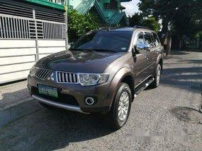 Sell Brown 2012 Mitsubishi Montero sport in Quezon City