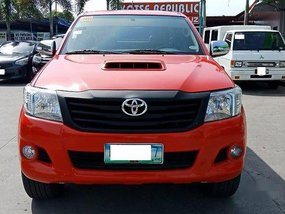 Red Toyota Hilux 2013 Manual Diesel for sale