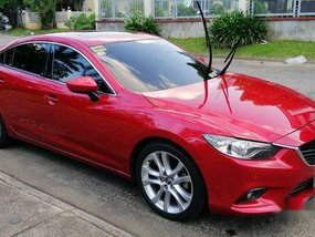 Sell Red 2014 Mazda 6 at 45000 km