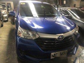 Blue Toyota Avanza 2017 Manual Gasoline for sale