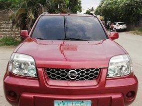 Selling Red Nissan X-Trail 2005 Automatic Gasoline