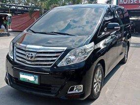 Black Toyota Alphard 2013 at 72000 km for sale