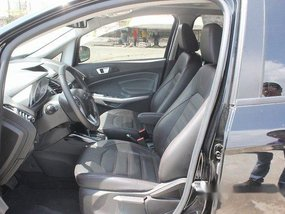 Black Ford Ecosport 2018 at 10424 km for sale