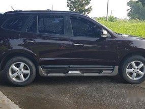Sell Red 2009 Hyundai Santa Fe at 90000 km