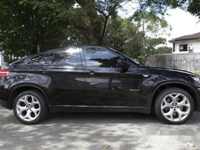 Selling Black Bmw X6 2011 Automatic Gasoline at 51000 km