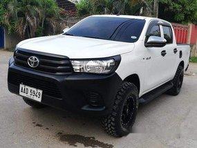 White Toyota Hilux 2016 for sale in Cebu