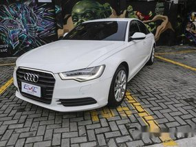 Selling White Audi A6 2012 at 28000 km