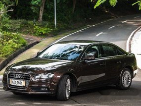 Brown Audi A4 2014 for sale in Makati