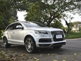Silver Audi Q7 2010 Automatic Diesel for sale