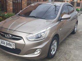 Selling Grey Hyundai Accent 2014 Automatic Gasoline