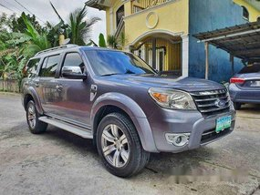 Blue Ford Everest 2012 at 70000 km for sale