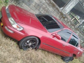 Sell Red 1997 Toyota Corolla at Manual Gasoline at 50000 km