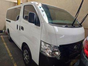 White Nissan Nv350 urvan 2018 at 6000 km for sale