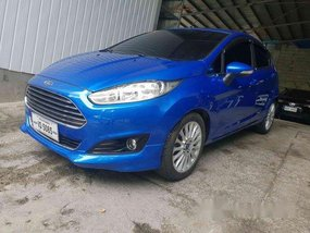 Selling Blue Ford Fiesta 2017 in Pasig