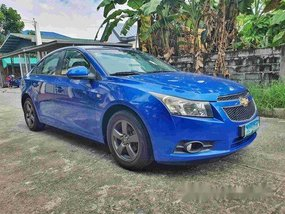 Sell Blue 2010 Chevrolet Cruze at Automatic Gasoline at 80000 km