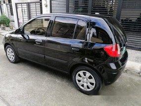 Black Hyundai Getz 2010 at 82000 km for sale