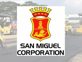 San Miguel Corporation's road made out of recycled plastics