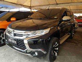 Black Mitsubishi Montero Sport 2016 at 34000 km for sale